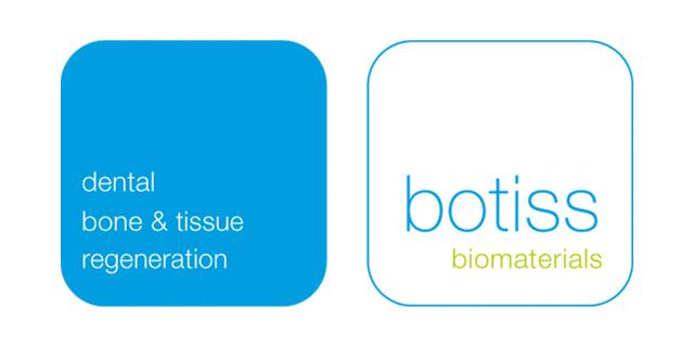 Logo des Unternehmens botiss biomaterials, Anbieter von Materialien für dentale Knochen- und Weichgeweberegeneration