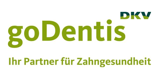 Logo des Unternehmens goDentis, der Gesellschaft für Innovation in der Zahnheilkunde mbH